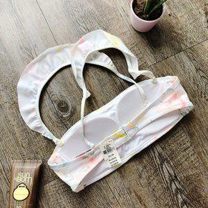 PINK Victoria's Secret Swim - 2/$30❤️ VS PINK Shine Flutter Bandeau Bikini Top